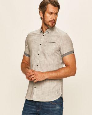Koszula dzinsowa niebieski na przyciskach Tom Tailor Denim