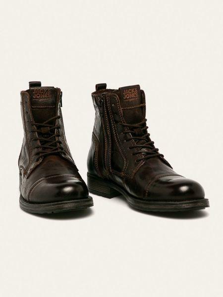 Кожаные ботинки Jack & Jones