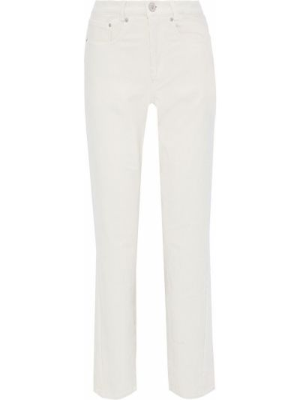 Spodnie sztruksowe z paskiem Pushbutton