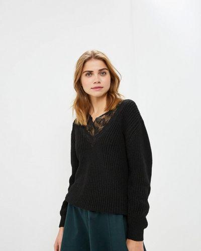 Пуловер итальянский черный Imperial
