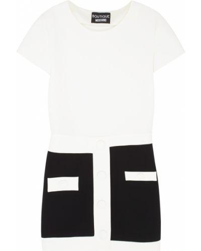Повседневное платье платье-пиджак черно-белое Boutique Moschino