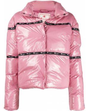Розовая куртка Champion