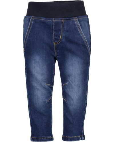 Синие джинсы свободного кроя с поясом Blue Seven