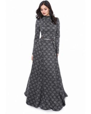 Вечернее платье серое оливковый Olivegrey