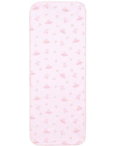 Розовая пеленка Kissy Kissy