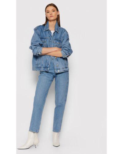 Niebieska kurtka jeansowa Gestuz
