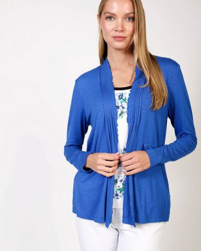 Синий пиджак из вискозы Eugen Klein