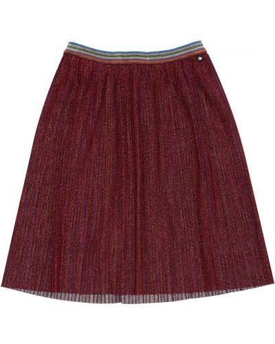 Pofałdowany spódnica na gumce z brokatem Molo