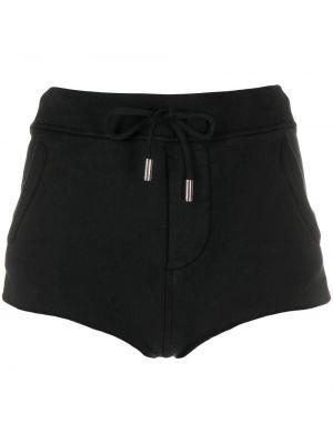 Черные спортивные шорты с карманами Dsquared2