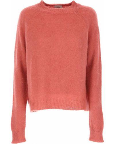 Różowy sweter Alysi