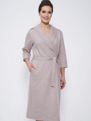 Домашний халат - серый Cleo