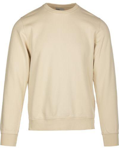 Biała bluza dresowa Colorful Standard