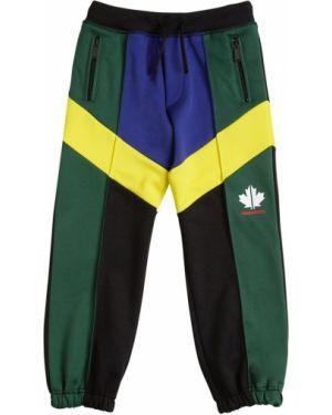 Spodnie na gumce z kieszeniami z mankietami Dsquared2