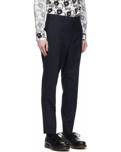 Spodnie z paskiem wełniane Comme Des Garcons Homme Deux