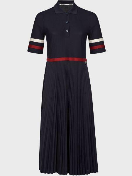 Хлопковое платье - синее Bogner