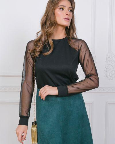 Блузка с рукавом реглан Leleya