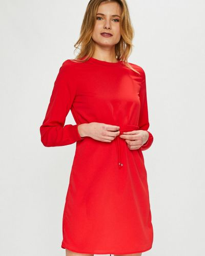 Платье мини прямое с вырезом Noisy May