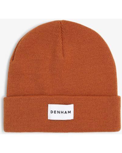 Pomarańczowa czapka Denham