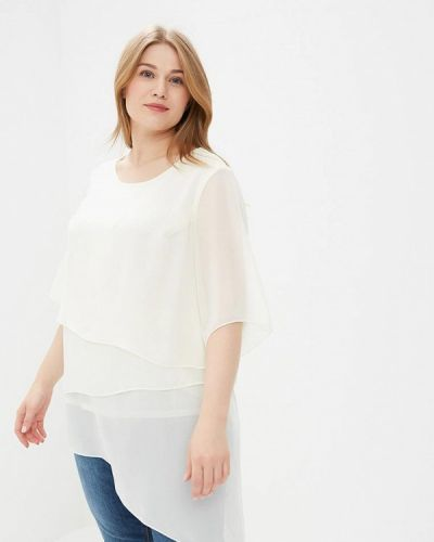 Белая блузка с коротким рукавом Berkline