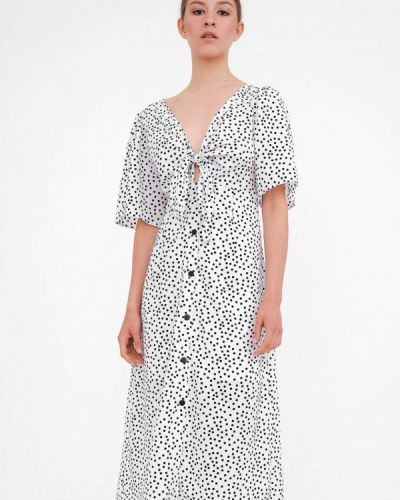 Прямое платье - белое Dorogobogato