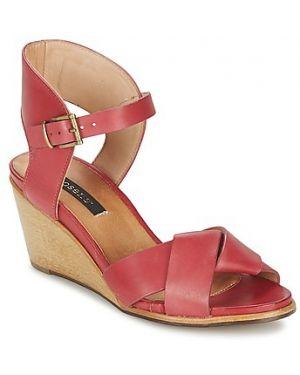 Czerwone sandały Neosens