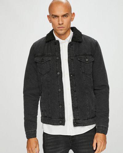 Джинсовая куртка утепленная укороченная Only & Sons