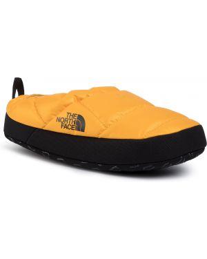 Żółte kapcie na co dzień The North Face