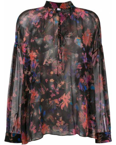 Блузка с цветочным принтом шелковая Iro