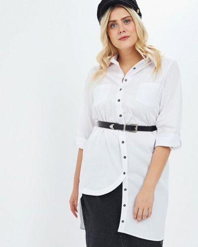 Блузка белая Hassfashion