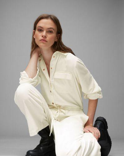 Bawełna bawełna beżowy spodni kombinezon Marc O Polo