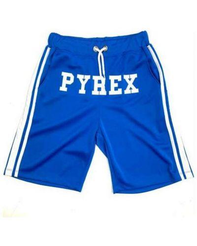 Niebieskie bermudy Pyrex