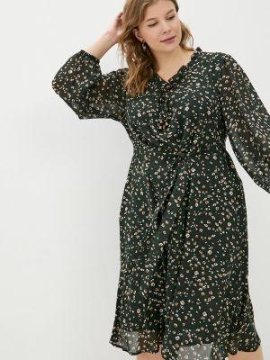 Повседневное платье - зеленое Intikoma