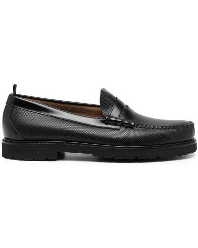 Loafers - czarne Fred Perry