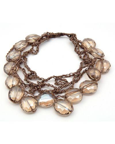 Ожерелье бежевый Sea