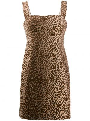 Тонкое платье на бретелях винтажное с вырезом Dolce & Gabbana Pre-owned