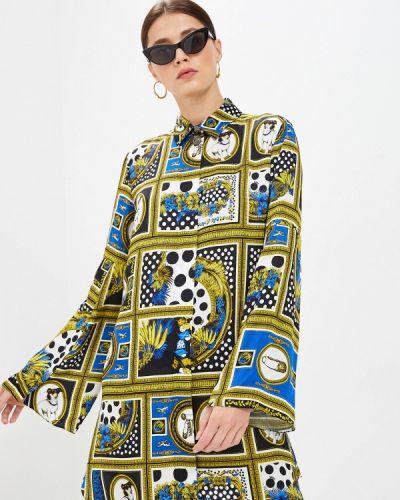 Разноцветное платье Versus Versace