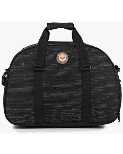 Черная спортивная сумка Roxy