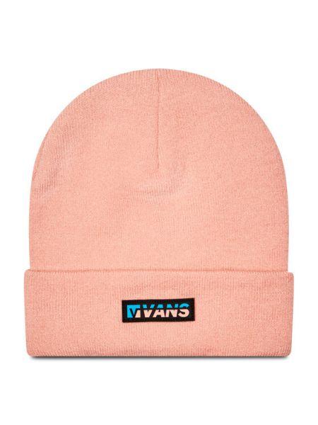 Różowa czapka beanie Vans