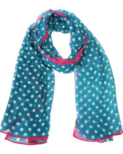 Бирюзовый шарф осенний Passigatti