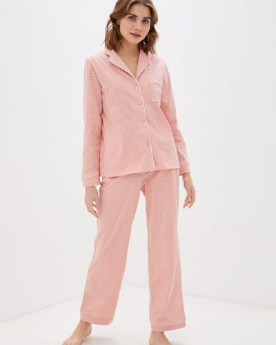 Костюмный розовый домашний костюм Winzor