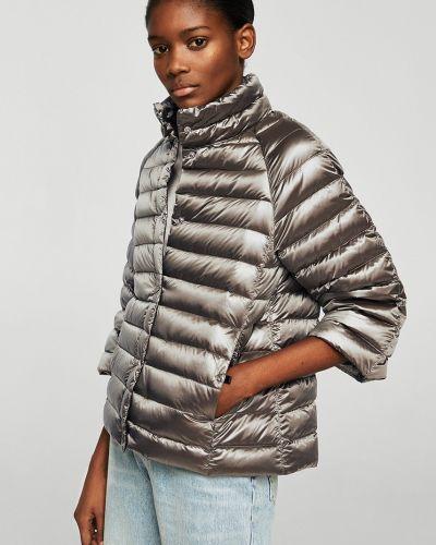 Стеганая куртка облегченная с карманами Mango