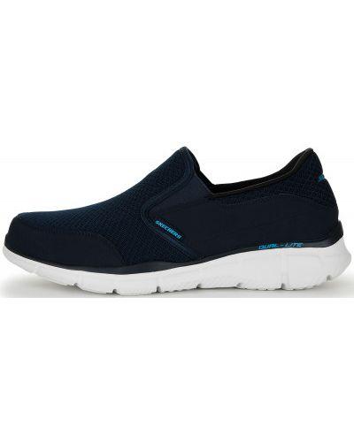 Слипоны спортивный синий Skechers