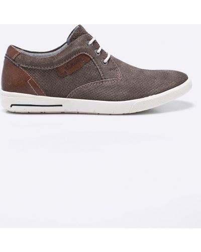 Туфли на шнуровке текстильные S.oliver