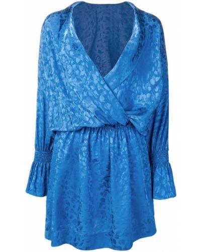 Платье с поясом с запахом с V-образным вырезом Zadig&voltaire