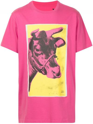 Розовая футболка с короткими рукавами Maharishi