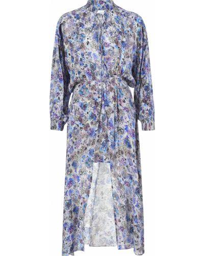 Платье из вискозы - синее Iro