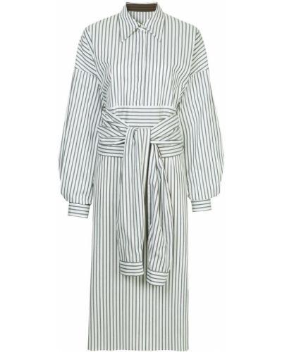 Платье миди платье-рубашка классическое Ll By Litkovskaya