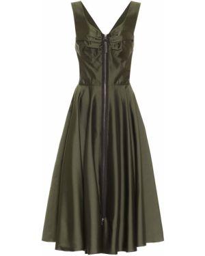 Платье миди шелковое итальянский Marni