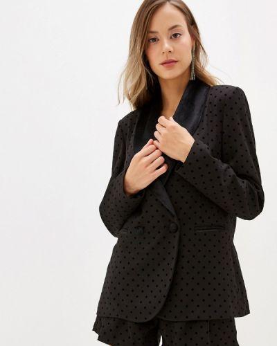 Пиджак черный итальянский Silvian Heach