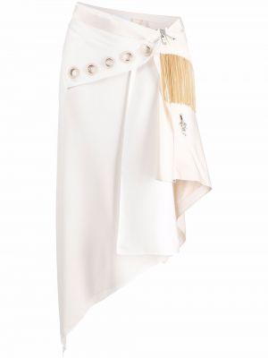 Spódnica asymetryczna - biała Givenchy